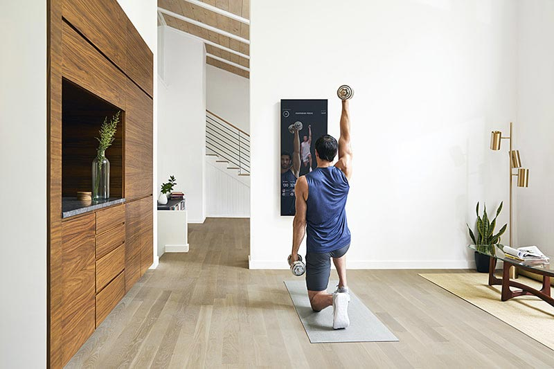 Mirror: the best interactive home gym trendy gadget review